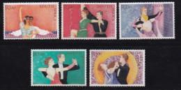 RSA, 2003, Mint Never Hinged Stamps, Ballroom Dancing, Sa1551-1554  , #9423 - Unused Stamps