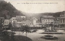 BELGIQUE - SPA - CPA - La Rue Royale, Les Jardins Du Casino Et La Montagne Annette Et Lubin - Carte Taxée Et - Spa