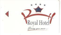 Greece-Royal Hotel ,Hotel Keycard - Hotelkarten