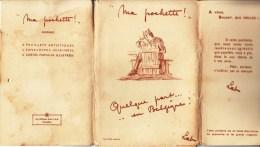"""""""Ma Pochette !"""" Quelque Part ..... En Belgique Courrier Militaire Composé De 6 Enveloppes+6 Lettres Et 6 Cartes Lettres - Belgium"""