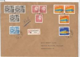 SUECIA CC CERTIFICADA LANDSKRONA SELLOS EUROPA CEPT 1969 - Europa-CEPT