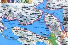 Montenegro - Bokokotorski Zaliv - Maps