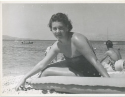 REAL PHOTO, Swimsuit  Woman  On  Beach, Femme En Maillot De Bain Sur Plage,Makarska Croatia  ORIGINAL - Photographs