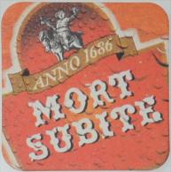 Sous-bock MORT SUBITE Bierdeckel Beermat Bierviltje (CX) - Sous-bocks