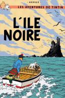 TINTIN  L'ILE NOIRE  (DIL167) - Bandes Dessinées