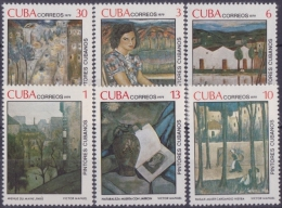1979.4- CUBA 1979. MNH. PINTORES CUBANOS. VISTOR MANUEL. - Cuba