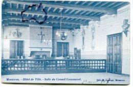 - Mouscron - Hôtel De L´Enclus - Salle Du Conseil Communal, Rare, Précurseur, écrite, Timbre Taxe, 1907, TBE, Scans. - Mouscron - Moeskroen