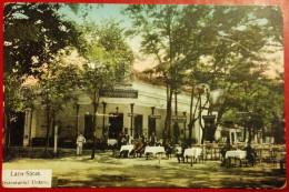 LACUL SARAT,BRAILA,RESTAURANTUL UNTARU,1916,ROMANIA - Rumania