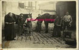 TOP-carte Photo 2 Sur 4- Saint Maur Des Fossés-v 1917-Maréchal Ferrant Indices Sur Photo 2 Et  4-la Varenne - Métiers
