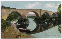 REFLECTIONS (A SCOTTISH SCENE) - OLD BRIDGE OF FORTH, STIRLING - Stirlingshire