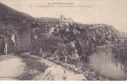 SAINT-CIRQ-LAPOPIE. 46. La Vieille Porte Et La Vallée Du Lot. - Saint-Cirq-Lapopie