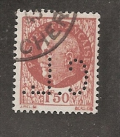 Perforé/perfin/lochung France No 517 C.L.  Crédit Lyonnais (245?  246?) - Perforés