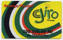 MOZAMBIQUE PREPAYEE GIRO 300 000 Mt Année 2003 - Mozambique