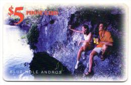 BAHAMAS REF MV CARDS BAH-C16 Blue Hole Andros - Bahamas