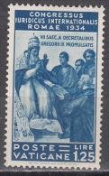 Vatican City    Scott No.  46   Unused Hinged     Year  1935 - Nuovi