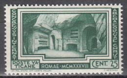 Vatican City    Scott No.  57    Mnh    Year  1938 - Vatican