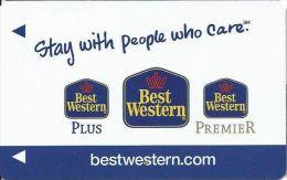 Best Western Hotels - Color Logos - Hotel Keycards