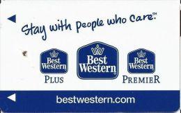 Best Western Hotels - Blue Logos - Hotel Keycards