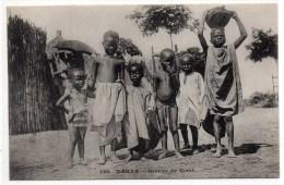 DAKAR (SENEGAL) - GROUPE DE NOIRS - Senegal