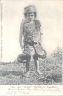 NIÑO INDIO ALCALUFA CPA TOP COLLECTION CIRCULEE 1904 KAWESQAR UNIQUE EN DELCAMPE PUEBLO EXTINGUIDO Y OLVIDADO - Chili