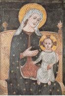 Monza - Duomo - Affresco XV Secolo - Madonna Dell'Aiuto Col Bambino - Paintings