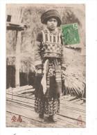 Tonkin-Lao Kay-Jeune Fille Man-Coc-(B.1048) - Viêt-Nam