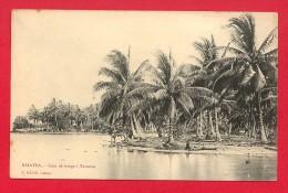 CPA: Polynésie Française - Raiatea - Coin De Rivage à Tevaitoa (Editeur E.Hanni) - Polynésie Française