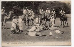 VILLAGE AFRICAIN - L'ATTAQUE DU COURRIER - FACTEUR / POSTE - Postcards