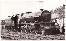Railway Photo LMS 6201 Princess Elizabeth Stockton & Darlington Cavalcade Loco - Eisenbahnen