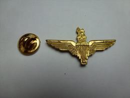 Beau Pin´s En Relief , Armée Militaire , Parachutisme , Para , Armée De L'Air - Militair & Leger