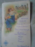 Hungary -Wedding Menu -Mariage - Grand Restaurant Neiger ? Dreher ? - 1911  -Törley Champagne   BA120.31 - Menú