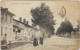 Marne : Auve, Route De Chalons - France