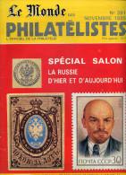 Le Monde Des Philatelistes N.391 11/1985,Empire Russe,URSS,Lénine,aero Accidenté 1927-8faux Sperati,rotary,CP Russe - Magazines
