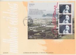 Europa Cept 1996 Azores M/s FDC (F5068) - Europa-CEPT