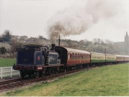Railway Photo Caledonian 439 Class 419 Kinneil LMS 0-4-4T Loco - Eisenbahnen