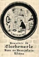 69 Vaux En Beaujolais  Souvenir De Clochemerle - France