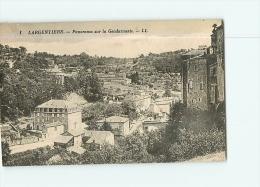 LARGENTIERE : Panorama Sur La Gendarmerie. 2 Scans. Edition LL - Largentiere