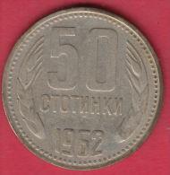 F6022 / - 50  Stotinki -  1962 -  Bulgaria Bulgarie Bulgarien Bulgarije - Coins Monnaies Munzen - Bulgaria