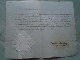 Hungary -Temesvár -Sigillum S.Sedis Consistorialis Csanadiensis- Antoniae Bernkopf - 1848  BA122.13 - Annunci Di Nozze