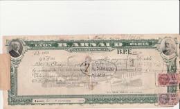 LETTRE DE CHANGE -BANQUE ARNAUD -LYON -PARIS -1936 + COURRIER D'ACCOMPAGNEMENT (4 Decuments) - Bills Of Exchange