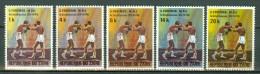Zaïre 1974 OBP/COB 843/847**  Foreman - M. Ali  MNH - Zaire