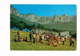 38 - St Bernard Du Touvet - Colonie De La Seyne-s/Mer - Groupe Enfants Garçons Filles - Tentes - France