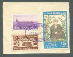 1950 TURKEY FARABI COMMEMORATION FDC ON PAPER - 1921-... Republic