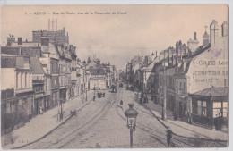 REIMS - Rue De Vesle Vue De La Passerelle Du Canal - Cacao Van Houten - Reims