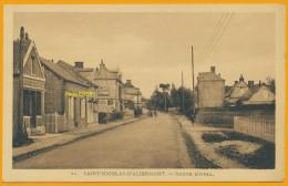 76 Saint-Nicolas-d'Aliermont Cpa6 Route D'Aval, Neuve, Qualité **** - Autres Communes