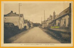 76 Saint-Nicolas-d'Aliermont Cpa7 Route D'Aval, Neuve, Qualité **** - Autres Communes