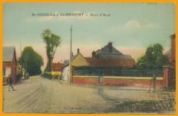 76 Saint-Nicolas-d'Aliermont Cpa8 Route D'Aval, Neuve, Qualité **** - Autres Communes