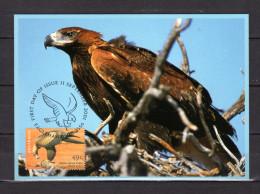 """Carte Maximum Et PAP Neuf De 2001 : """" AIGLE """". Voir Scan. Parfait état. CM - Eagles & Birds Of Prey"""