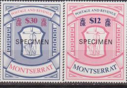 Montserrat 1983 Emblemi MNH Campione SPECIMEN MNH - Montserrat