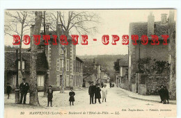 OF < 48 - MARVEJOLS < BOULEVARD De L'HOTEL De VILLE - N° 10 EDITION PAGES ROUX - Marvejols